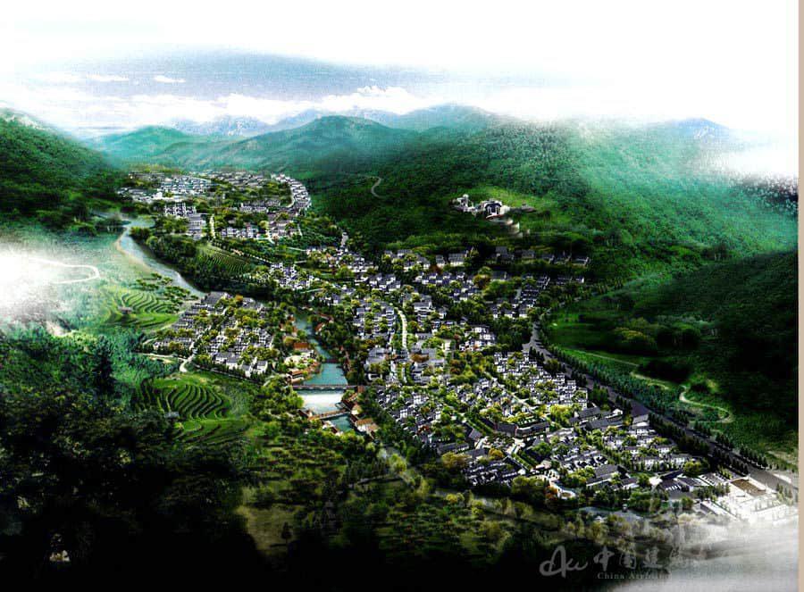 泰山艾洼村民俗旅游区建设性详规