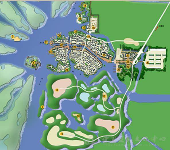 九龙口湿地生态民俗旅游区概念性规划