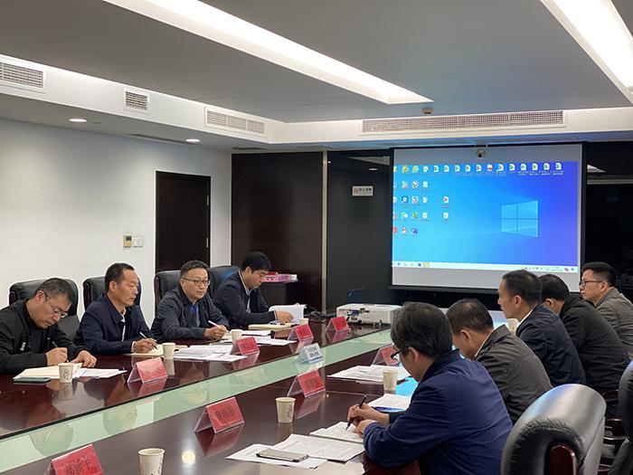 浙江省住房和城乡建设厅一行来苏调研城市地下管网建设管理工作