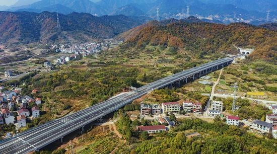 建金高速通过交工验收 将完善浙江中西部高速公路网
