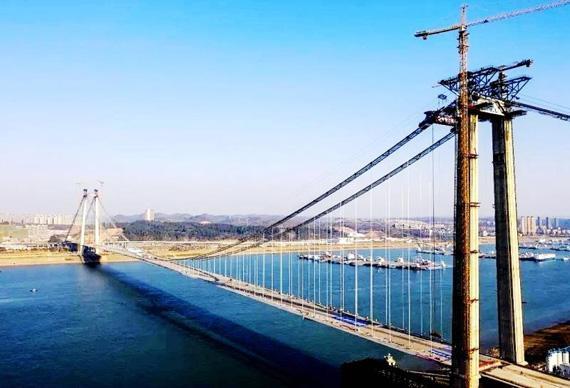 湖北第36座长江大桥成功合龙