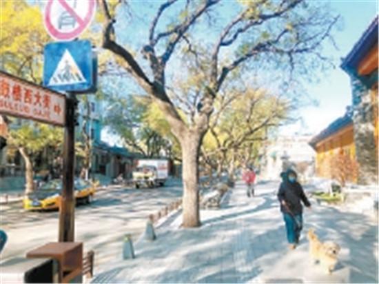 700歲老街古韻新姿 北京最古老斜街煥發光彩