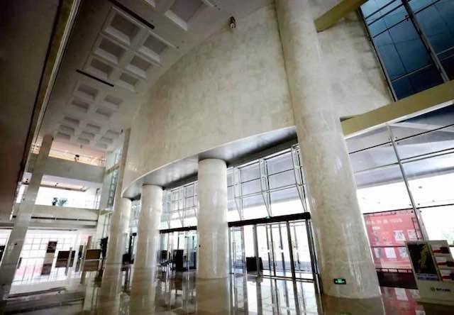 国内首例钢混装配式带肋空心楼盖工程投入使用